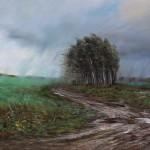 """""""Непогода"""" - х.м. (60х80) - 2013 г"""