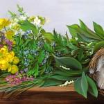 """""""Весна пришла"""" - х.м. (35х65) - 2001 г"""