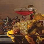 """Натюрморт с красным вином"" - х.м. (30х40) - 2011 г"