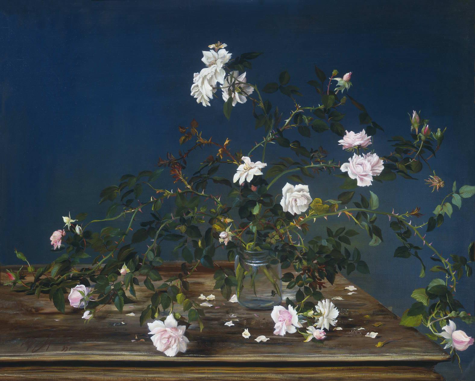 """""""Роза"""" - х.м. (90х100) - 1995 г"""